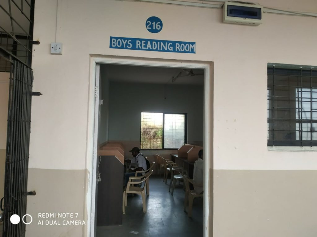 9. Boys Reading room